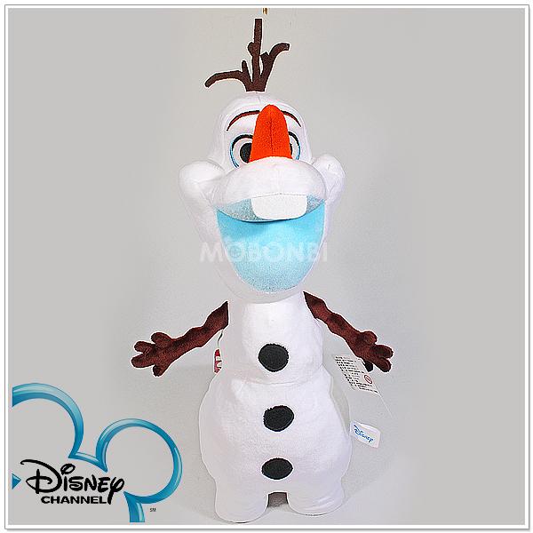 冰雪奇缘雪宝造型娃娃